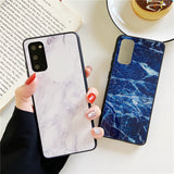 Retro Marble Soft Phone Case Back Cover for Samsung Galaxy S20 Ultra/S20 Plus/S20/S10E/S10 Plus/S10/S9 Plus/S9/S8 Plus/S8/Note 20 Ultra/Note 20/Note 10 Plus/Note 10