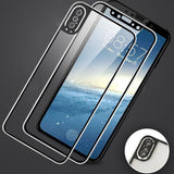 Ladycases - Phone Case Expert - 3D Curved Edge Front+Back Tempered Glass Screen Protector for iPhone 11 Pro Max/11 Pro/11/XS Max/XR/XS/X/8 Plus/8/7 Plus/7/6s Plus/6s/6 Plus/6