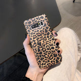 Ladycases - Phone Case Expert - Retro Sexy Leopard with Lanyard Phone Case Back Cover for Samsung Galaxy S20 Ultra/S20 Plus/S20/S10E/S10 Plus/S10/S9 Plus/S9/S8 Plus/S8/Note 10 Pro/Note 10/Note 9/Note 8
