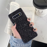 Ladycases - Phone Case Expert - Luxury Bling Glitter Soft Silicone Phone Case Back Cover for Samsung Galaxy S20 Ultra/S20 Plus/S20/S10E/S10 Plus/S10/S9 Plus/S9/S8 Plus/S8/Note 10 Pro/Note 10/Note 9/Note 8