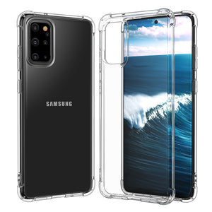 Ladycases - Phone Case Expert - Simple Transparent Bumper Soft Phone Case Back Cover for Samsung Galaxy S20 Ultra/S20 Plus/S20/S10E/S10 Plus/S10/S9 Plus/S9/Note 10 Pro/Note 10