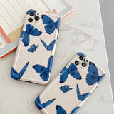 Ladycases - Phone Case Expert - Cute Butterfly Soft Phone Case Back Cover for iPhone SE/11 Pro Max/11 Pro/11/XS Max/XR/XS/X/8 Plus/8/7 Plus/7