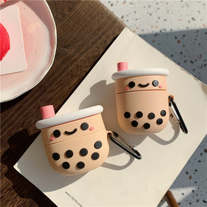 3D Boba Tea Soft AirPods/AirPods Pro Case