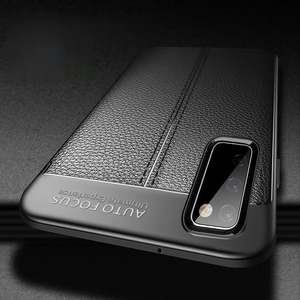 Luxury Anti-slip Drop-proof Soft Phone Case Back Cover for Samsung Galaxy S20 FE