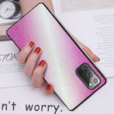 Glitter Gradient Soft Phone Case Back Cover for Samsung Galaxy S20 Ultra/S20 Plus/S20/S10E/S10 Plus/S10/S9 Plus/S9/S8 Plus/S8/Note 20 Ultra/Note 20/Note 10 Plus/Note 10