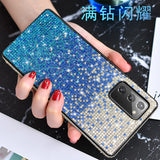Gradient Diamond Soft Phone Case Back Cover for Samsung Galaxy S20 Ultra/S20 Plus/S20/S10E/S10 Plus/S10/S9 Plus/S9/S8 Plus/S8/Note 20 Ultra/Note 20/Note 10 Plus/Note 10