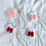 Bow Pearl Chain AirPods/AirPods Pro Case