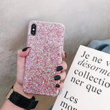 Glitter Sequins Phone Case Back Cover for iPhone 12 Pro Max/12 Pro/12/12 Mini/SE/11 Pro Max/11 Pro/11/XS Max/XR/XS/X/8 Plus/8/7 Plus/7