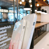 Simple Marble Fissure Clear Soft Phone Case Back Cover for iPhone 12 Pro Max/12 Pro/12/12 Mini/SE/11 Pro Max/11 Pro/11/XS Max/XR/XS/X/8 Plus/8/7 Plus/7