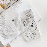 Ladycases - Phone Case Expert - Simple Planet Star Transparent Soft Phone Case Back Cover for iPhone 11/11 Pro/11 Pro Max/XS Max/XR/XS/X/8 Plus/8/7 Plus/7
