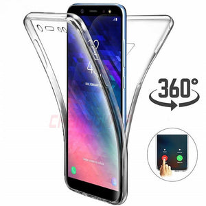 Ladycases - Phone Case Expert - Double Side 360 Full Protective Transparent Phone Case Back Cover for Samsung Galaxy S20 Ultra/S20 Plus/S20/S10E/S10 Plus/S10/S9 Plus/S9/S8 Plus/S8/Note 10 Pro/Note 10