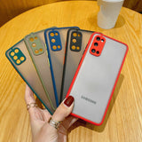 Solid Color Anti-fall Frosted Soft Phone Case Back Cover for Samsung Galaxy S21 Ultra/S21 Plus/S21/S20 FE/S20 Ultra/S20 Plus/S20/S10E/S10 Plus/S10/S9 Plus/S9/S8 Plus/S8/Note 20 Ultra/Note 20/Note 10 Pro/Note 10
