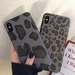 Ladycases - Phone Case Expert - Retro Leopard Cheetah Soft Phone Case Back Cover for iPhone 11/11 Pro/11 Pro Max/XS Max/XR/XS/X/8 Plus/8/7 Plus/7