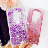 Ladycases - Phone Case Expert - Liquid Glitter Quicksand Phone Case Back Cover for Samsung Galaxy S20 Ultra/S20 Plus/S20/S10E/S10 Plus/S10/S9 Plus/S9/S8 Plus/S8/Note 10 Pro/Note 10/Note 9/Note 8