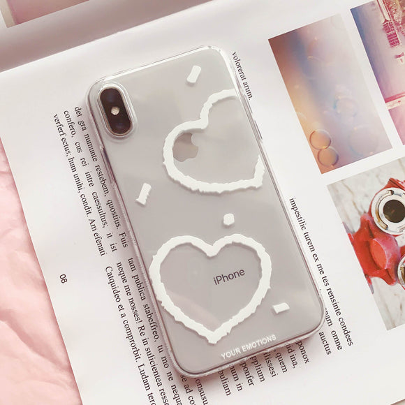 Cute Love Couples Soft Phone Case Back Cover for iPhone SE/11 Pro Max/11 Pro/11/XS Max/XR/XS/X/8 Plus/8/7 Plus/7