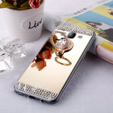 Ladycases - Phone Case Expert - Luxury Diamond Mirror Soft TPU Phone Case Back Cover for Samsung Galaxy S20 Ultra/S20 Plus/S20/S10E/S10 Plus/S10/S9 Plus/S9/S8 Plus/S8/Note 10 Pro/Note 10/Note 9/Note 8