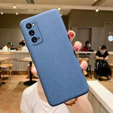 Pure Color Matte Soft Phone Case Back Cover for Samsung Galaxy S20 FE