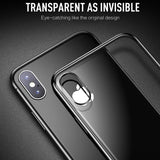 Ladycases - Phone Case Expert - Full Plating Clear Crystal Ultra Thin Protective Phone Case Back Cover for iPhone SE/11 Pro Max/11 Pro/11/XS Max/XR/XS/X/8 Plus/8/7 Plus/7/6s Plus/6s/6 Plus/6