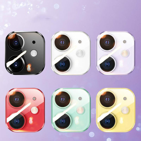 Ladycases - Phone Case Expert - Glass Film Camera Len Protector for iPhone 11/11 Pro/11 Pro Max/XS Max/XR/XS/X/8 Plus/8/7 Plus/7