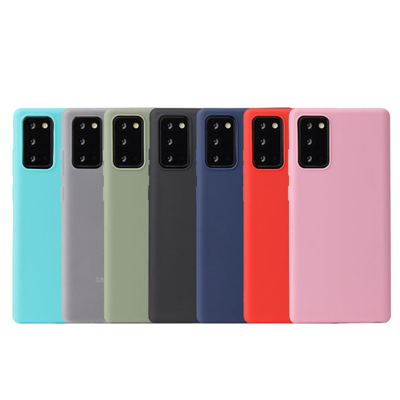 Candy Color Soft Phone Case Back Cover for Samsung Galaxy S20 Ultra/S20 Plus/S20/S10E/S10 Plus/S10/S9 Plus/S9/S8 Plus/S8/Note 20 Ultra/Note 20/Note 10 Plus/Note 10