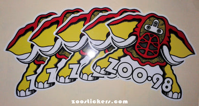 ZOO 98 - White Vinyl-5 Pack Clearance/$3.00 Each!