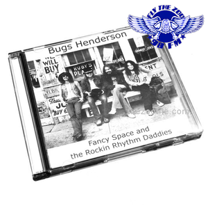 "Bugs Henderson & ""Fancy Space"" - 1975 Vintage Recording now on CD+ Free Sticker & Zoo Guitar Pick"
