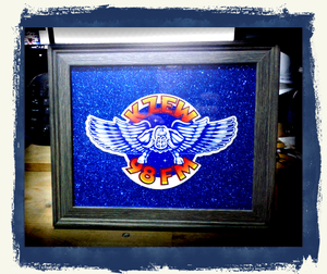 Framed Blue Winged ZooLoo-Original#1