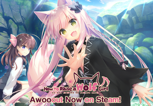 How to Raise a Wolf Girl Awooout Now on Steam!