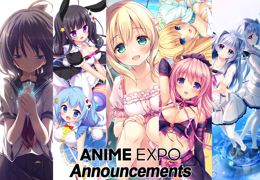 Anime Expo 2019 Announcements!