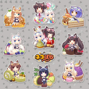 NEKOPARA - Sticker Set 10pcs