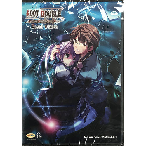 Root Double -Before Crime * After Days- Xtend Edition Game Disc