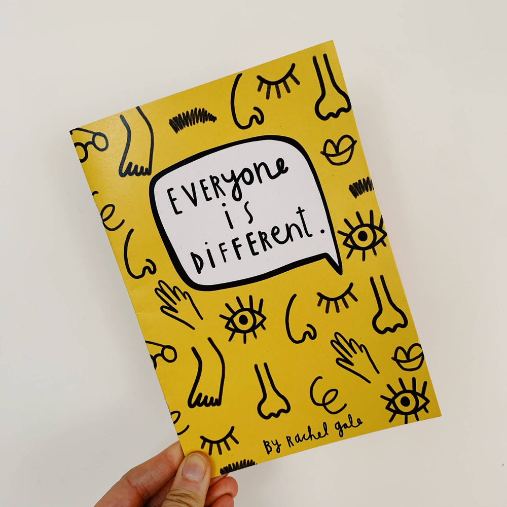 'Everyone Is Different' Book