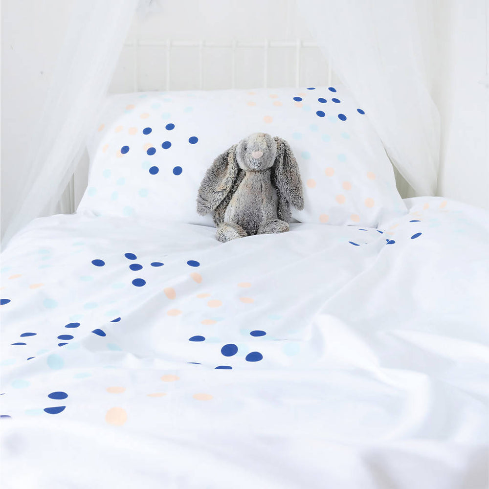 DOTTY ABOUT YOU (Blue) Duvet Set