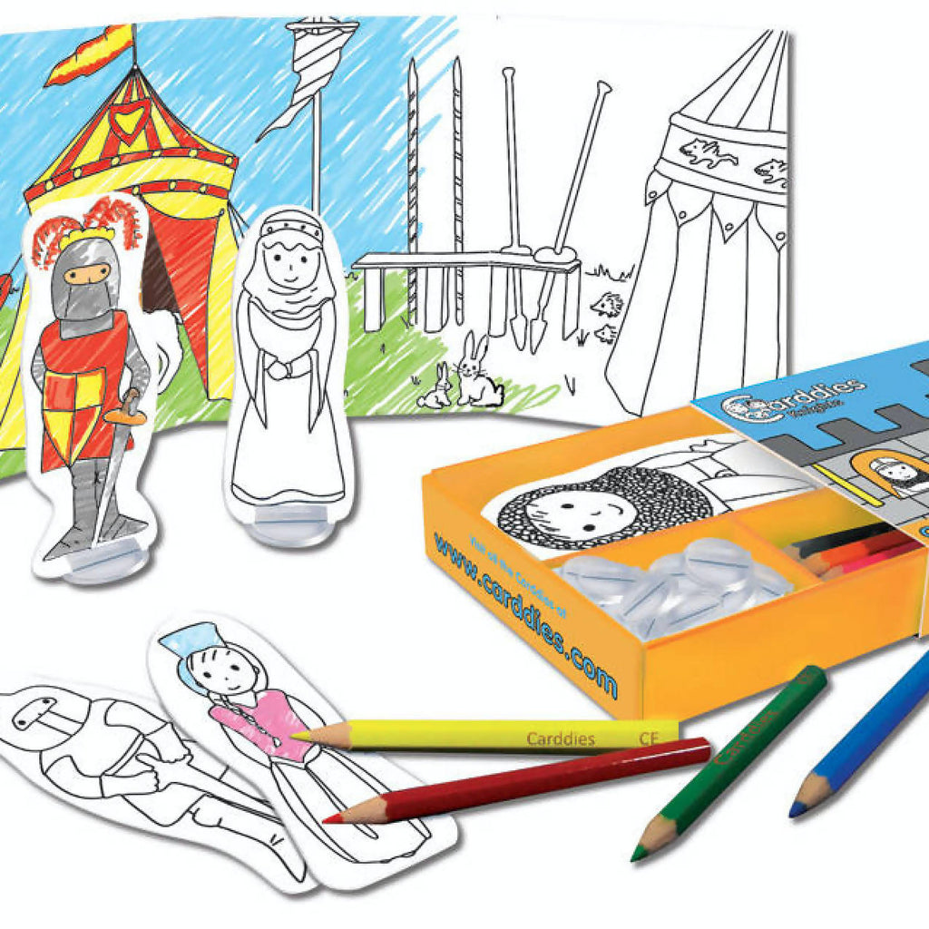 CARDDIES KNIGHTS Colour and Play Set