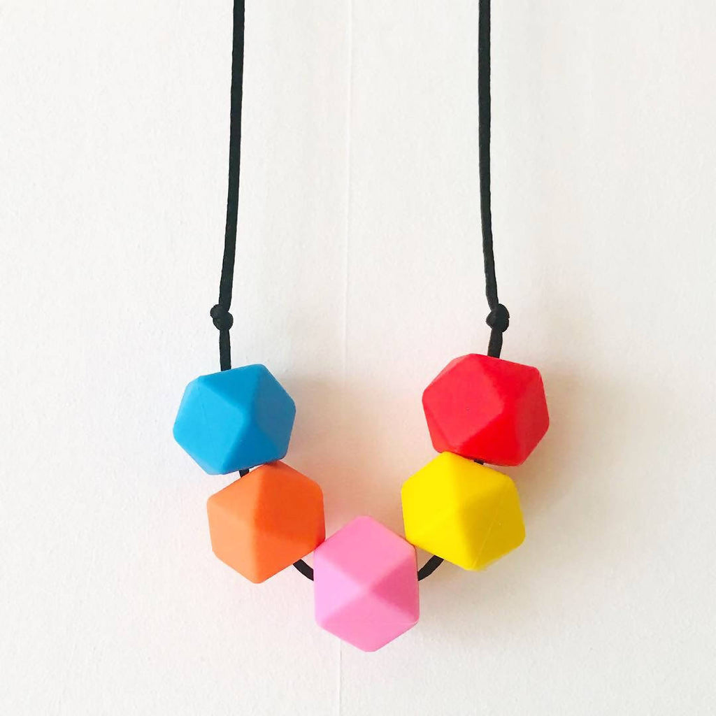 'I Can Sing A Rainbow' Teething Necklace