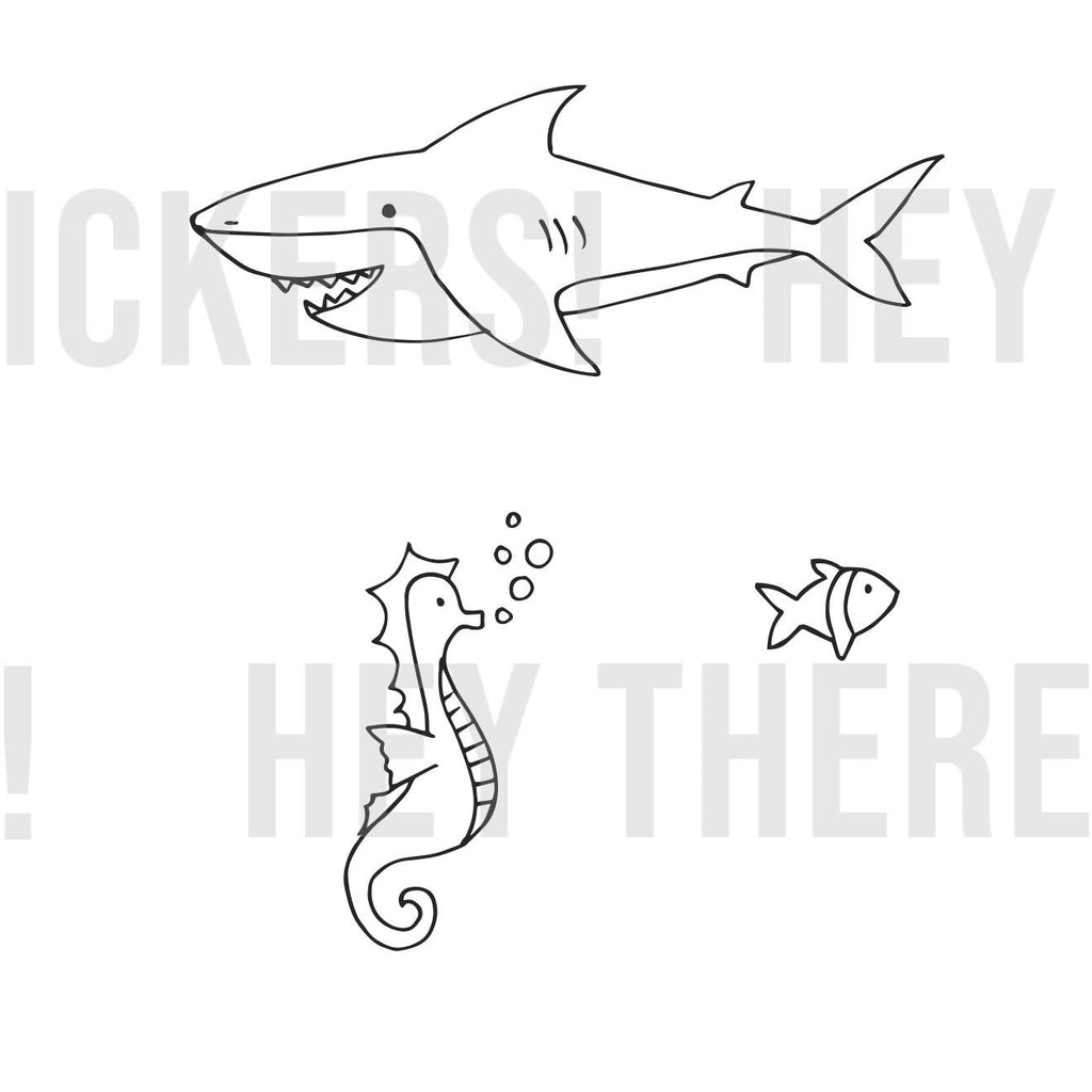 Under the Sea Colouring Download