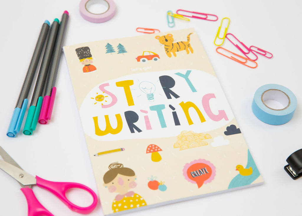 Story Writing Activity Book