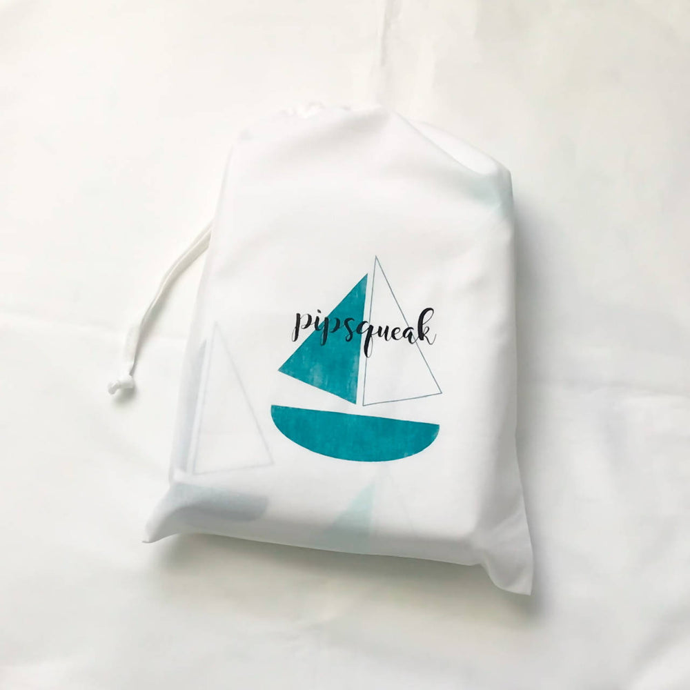 BON VOYAGE (Teal) Duvet Set- Single