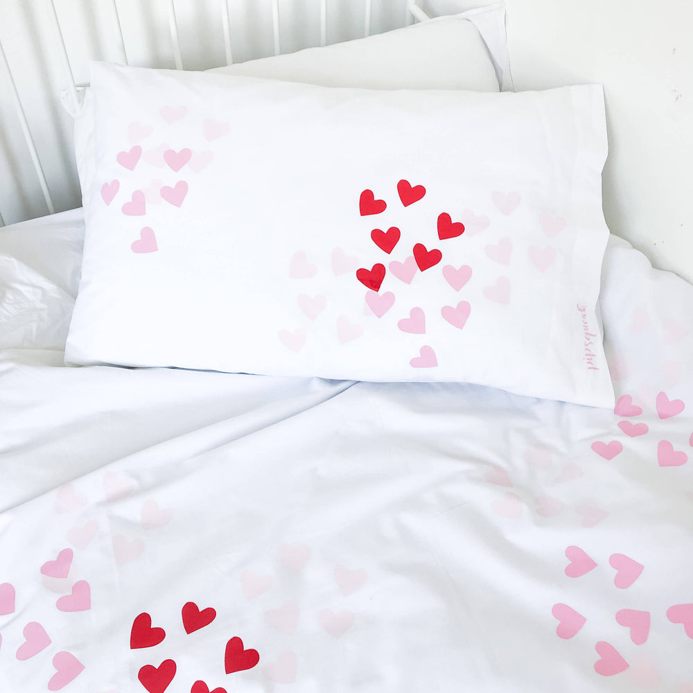 OH MY HEART (Pink) Duvet Set