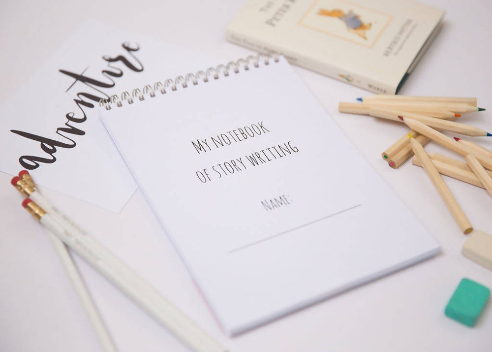 Story Writing Activity Notebook