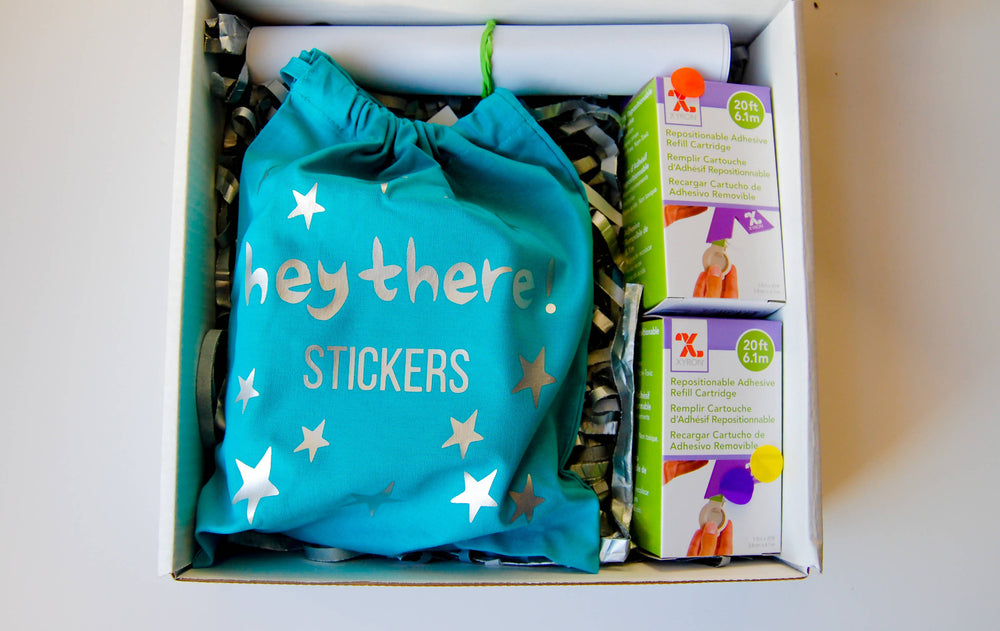 Hey There Stickers! Gift Box