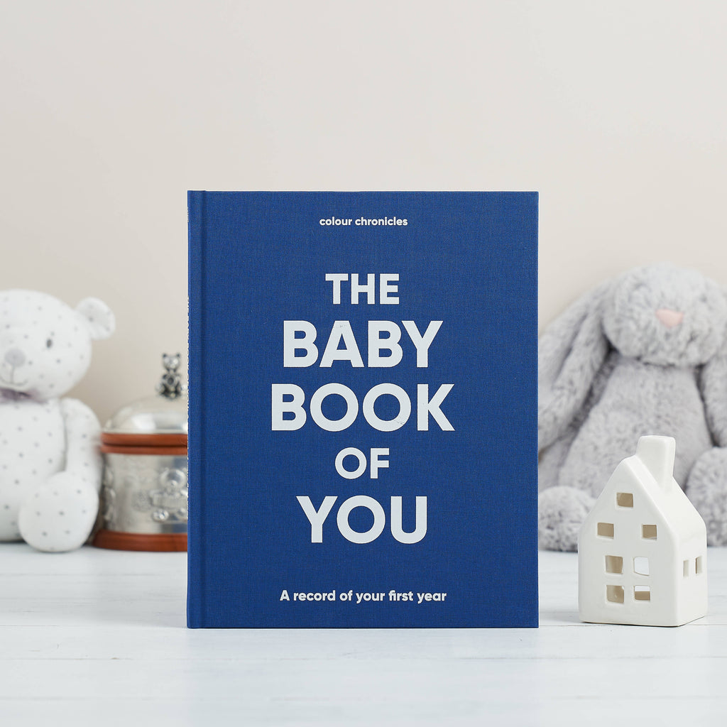 The Baby Book of You: A record of your first year
