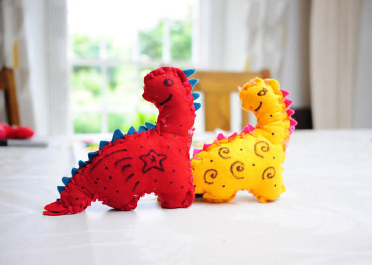 Feltosaur Dinosaur Craft Kit - World Edition