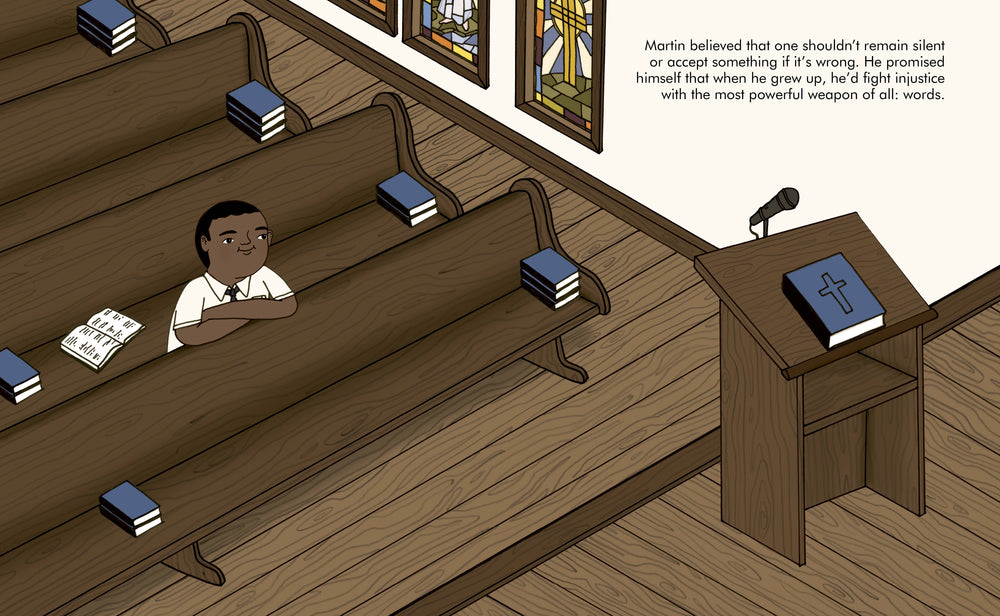 Little People Big Dreams : Martin Luther King Jr