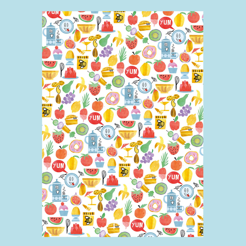 'KIDS FRUIT' Wrapping Paper