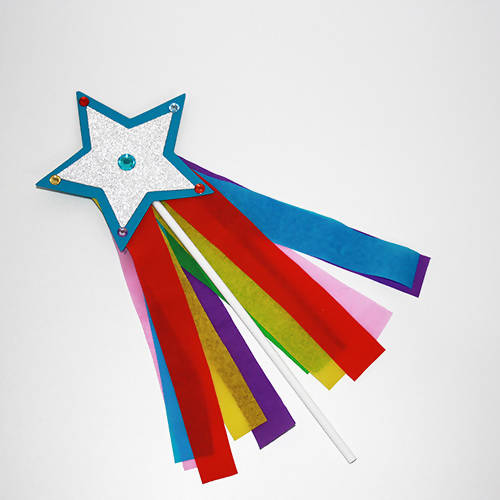 Rainbow Wand Children's Craft KIt