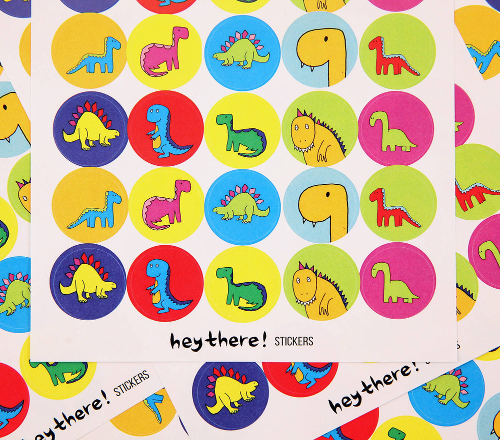 Dinosaur Sticker Pack