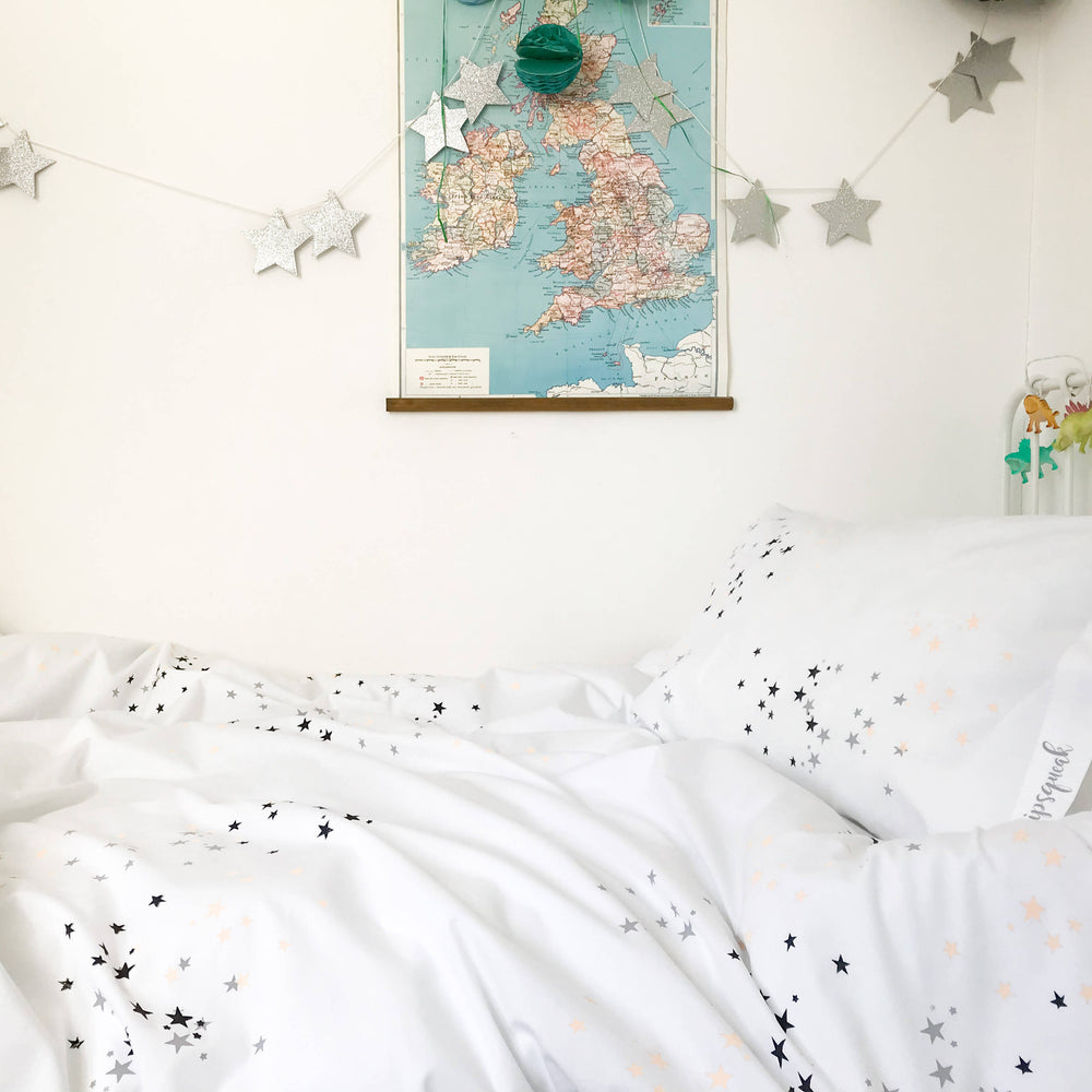 TWINKLE STAR (Peach) Duvet Set