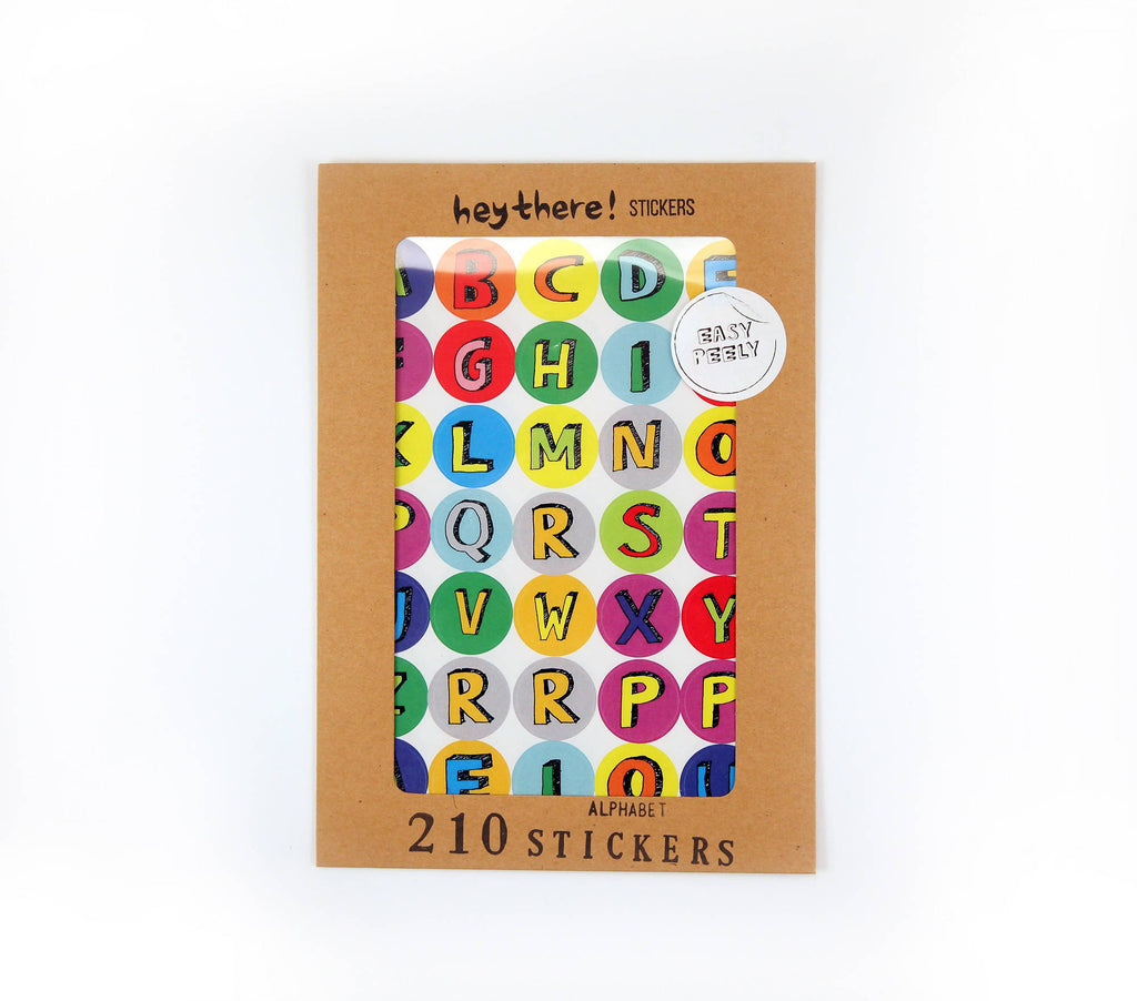 Alphabet Sticker Pack