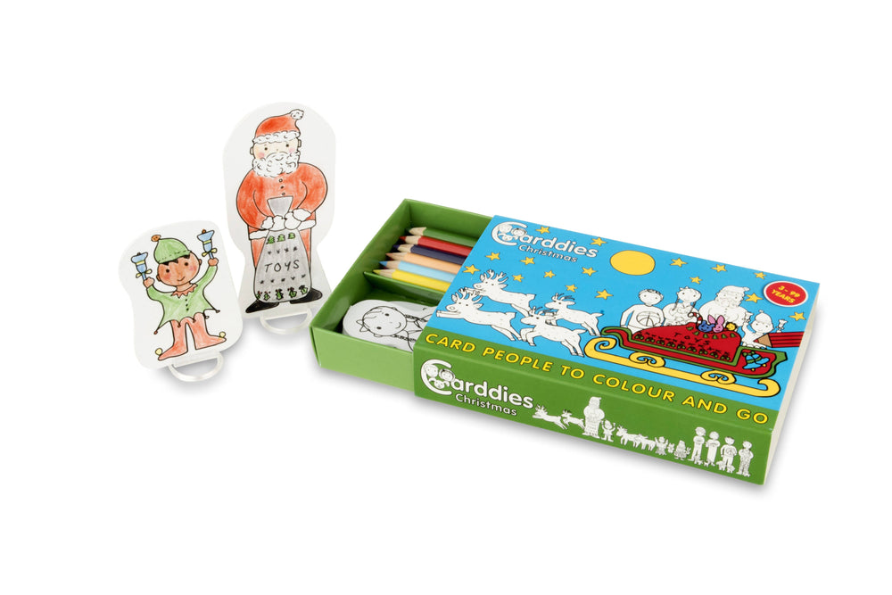 CARDDIES CHRISTMAS Colour and Play Set